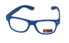 Non prescription child glasses, blue wayfarer  - Design nr. 936